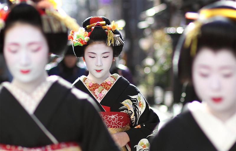 Пожилые японские женщины изменяют мужьям