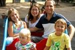 Семья в Швеции
